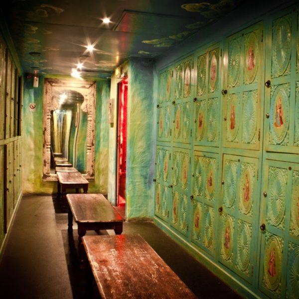 Vestiaires Star City Sauna Libertin